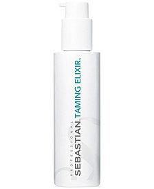 Sebastian Taming Elixir Weightless Smoothing Crème Serum, 4.7-oz., from PUREBEAUTY Salon & Spa