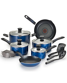 CLOSEOUT! Cook-N-Strain 14-Pc. Non-Stick Cookware Set