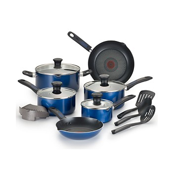 T-Fal Cook-N-Strain 14-Pc. Non-Stick Cookware Set