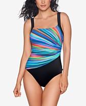 ed7cca3f248dc Reebok Radiant Energy One-Piece Swimsuit