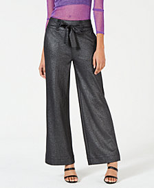 XOXO Juniors' Shine Wide-Leg Trousers