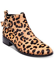 STEVEN by Steve Madden Chavi Leopard Booties