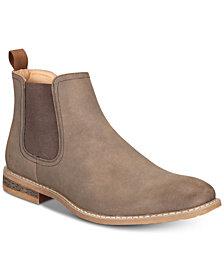 Nautica Men's Coffey Suede Chelsea Boots
