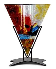 """9"""" x 12"""" Triangle Vase"""