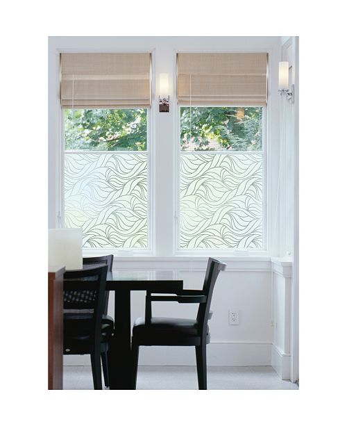 Brewster Home Fashions Nouveau Swirl Window Film