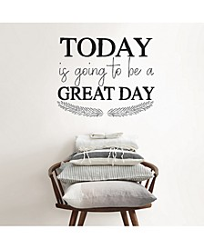 Great Day Wall Quote