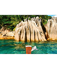St.pierre Island At Seychelles Wall Mural