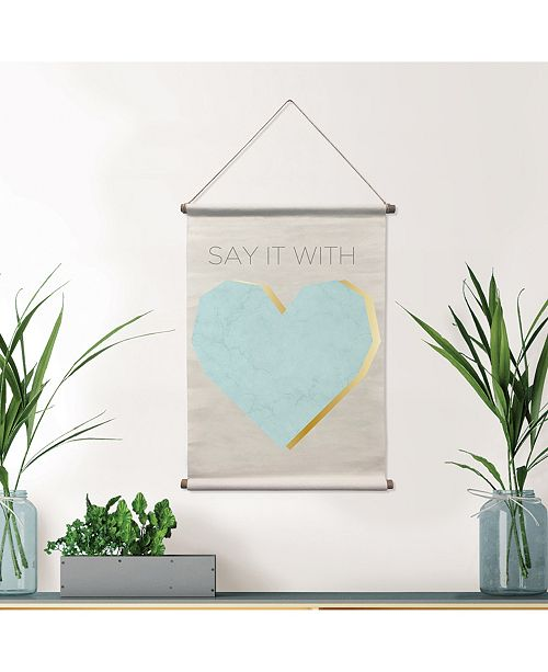 Brewster Home Fashions Say It Wall Tapestry