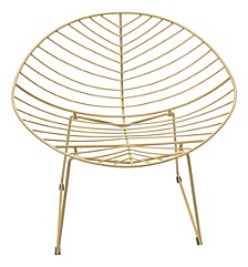 Hyde Outdoor Lounge Chair Gold (Set of 2)