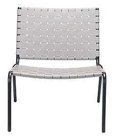 Beckett Lounge Chair Light Gray