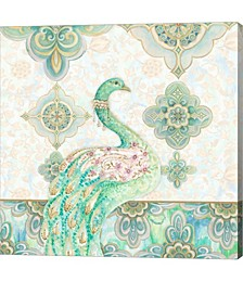 Emerald Peacock by Janice Gaynor