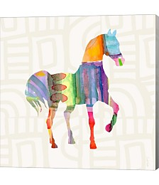 Colorful Horse by Linda Woods