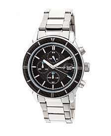 Breed Quartz Maverick Chronograph Silver Alloy Watches 43mm
