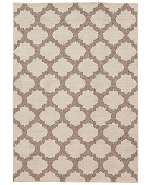 Surya Alfresco Alf 9586 Cream 8 9 X 12 9 Area Rug Indoor Outdoor