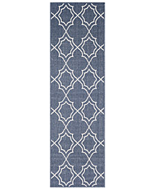 "Surya Alfresco ALF-9650 Charcoal 2'3"" x 7'9"" Runner Area Rug"