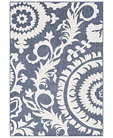 "Surya Alfresco ALF-9658 Charcoal 3' x 5'6"" Area Rug"