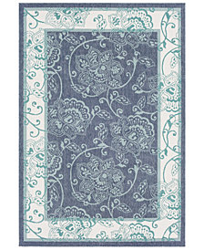"Surya Alfresco ALF-9660 Charcoal 3' x 5'6"" Area Rug"