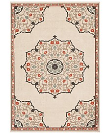 Alfresco ALF-9679 Burnt Orange 6' x 9' Area Rug, Indoor/Outdoor