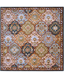 Surya Caesar CAE-1032 Dark Green 6' Square Area Rug