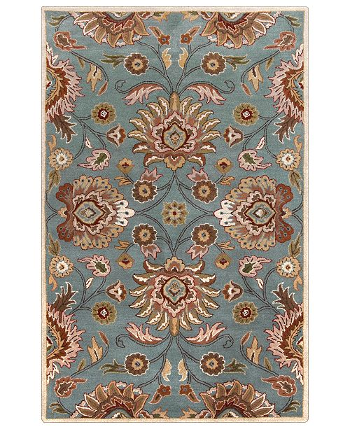 Surya Caesar CAE-1052 Medium Gray 10' x 14' Area Rug