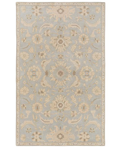 Surya Caesar CAE-1162 Light Gray 9' x 12' Area Rug