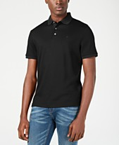 9b40cea3a60 Calvin Klein Men s Liquid Touch Cotton Polo Shirt