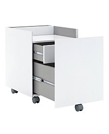 Offex Niche File Cabinet Gray - Black