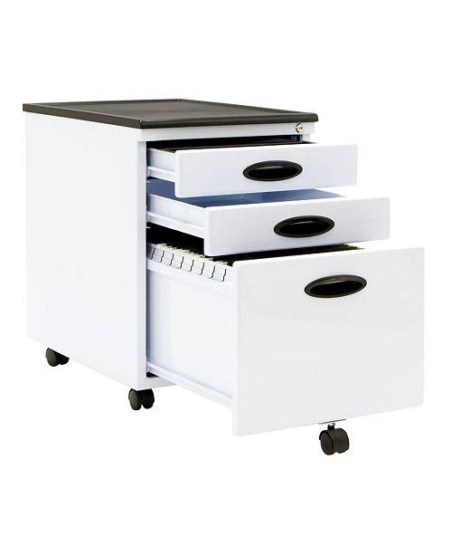 Clickhere2shop File Cabinet - White