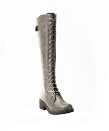 Wanted Infantry Lace Up Combat Boot