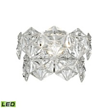 Lavique 1 Wall Sconce Polished Chrome