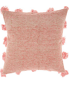 Mina Victory Life Styles Tassel Border Decorative Pillow