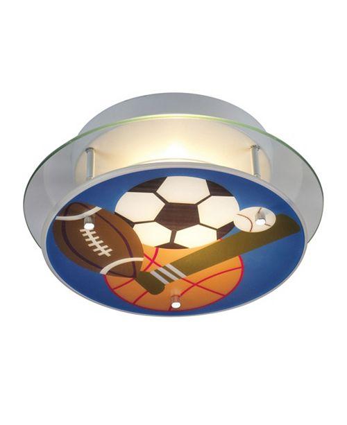 ELK Lighting Novelty 2-Light Sports Semi-Flush
