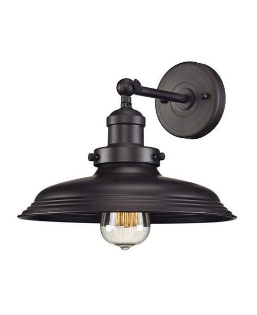 ELK Lighting Newberry Collection 1 light sconce in Oil Rubbed Bronze