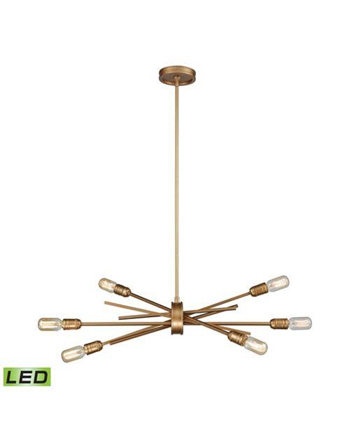 ELK Lighting Xenia 6 Light Chandelier in Matte Gold