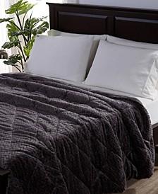Blanket & Home Co.® Large Braid VelvetLoft® Full/Queen Comforter