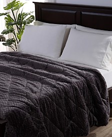 Berkshire Blanket & Home Co.® Large Braid VelvetLoft®  Comforter Collection