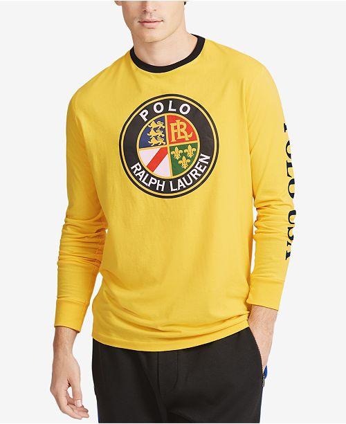 4c4ad2efc21fc ... Polo Ralph Lauren Downhill Skier Men s Graphic Long-Sleeve T-Shirt ...