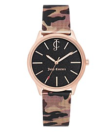 Woman's 1014RGCA Mesh Bracelet Watch