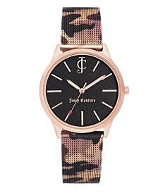 Woman's Juicy Couture, 1014RGCA Mesh Bracelet Watch