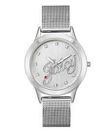 Woman's 1033SVSV Mesh Bracelet Watch
