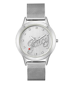 Woman's Juicy Couture, 1033SVSV Mesh Bracelet Watch