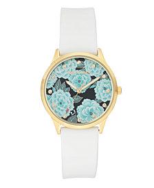 Woman's JC/1074FLWK Silicon Strap Watch