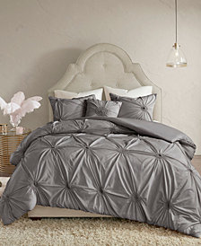 Madison Park Leila 4-Pc. Full/Queen Duvet Cover Set