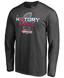 Majestic Men's Boston Red Sox World Series Champ Locker Room Long Sleeve T-Shirt 2018
