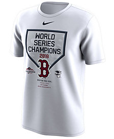 Nike Men's Boston Red Sox World Series Champs Celebration T-Shirt 2018