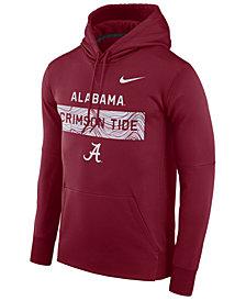 Nike Men's Alabama Crimson Tide Staff Pullover Hooded Sweatshirt