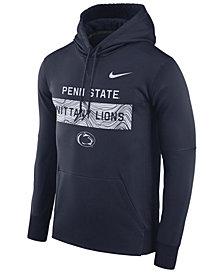 Nike Men's Penn State Nittany Lions Staff Pullover Hooded Sweatshirt
