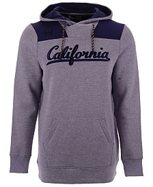 Under Armour Men's California Golden Bears Threadborne Fleece Hoodie