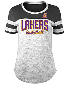 5th & Ocean Women's Los Angeles Lakers Spacedye T-Shirt