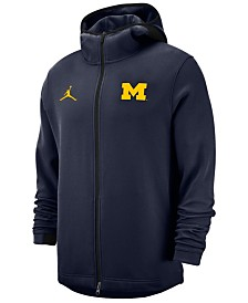 Nike Men's Michigan Wolverines Showtime Full-Zip Hooded Jacket